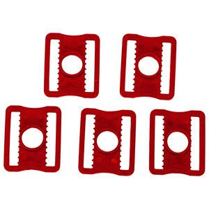"1"" PLASTIC MASK BUCKLES BAUER (5 PACK)"