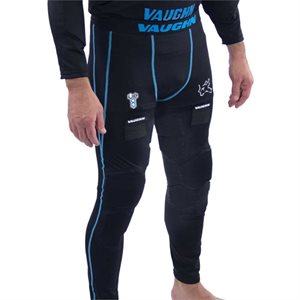 PADDED COMPRESSION GOALIE PANTS VAUGHN V9 SENIOR